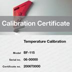Сертификати за калибриране и валидиране на апаратите