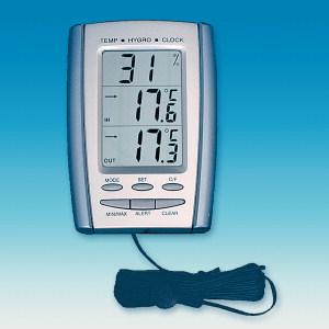Дигитални термовлагомери и барометри