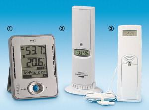 Термовлагомери за помещения с радиосензори